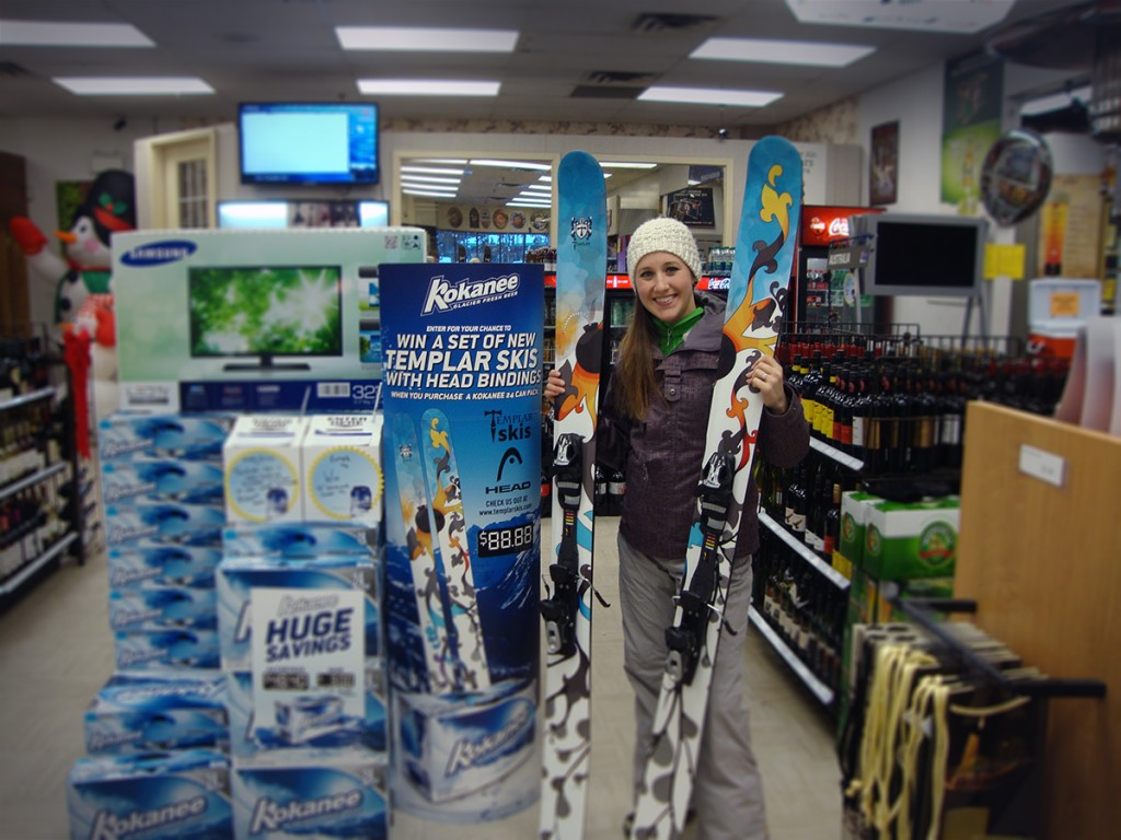 Win skis small
